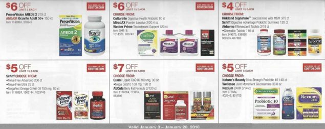 January 2018 Costco Coupon Book Page 15