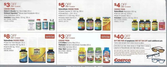 January 2018 Costco Coupon Book Page 17