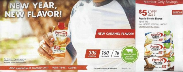 January 2018 Costco Coupon Book Page 3