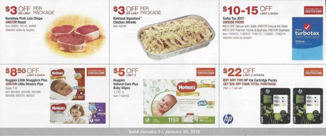 January 2018 Costco Coupon Book Page 5