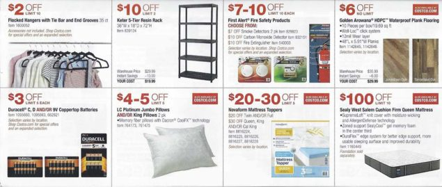 January 2018 Costco Coupon Book Page 6