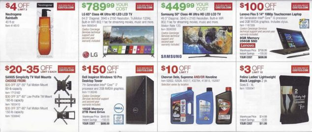 January 2018 Costco Coupon Book Page 8
