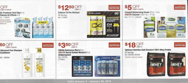 January 2018 Costco Coupon Book Page 9
