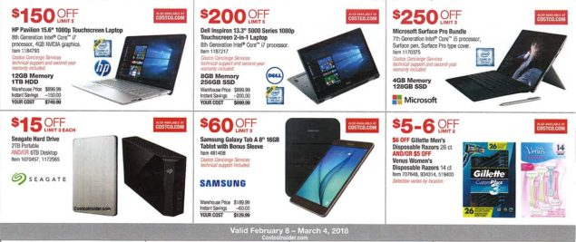 Costco February 2018 Coupon Book Page 10