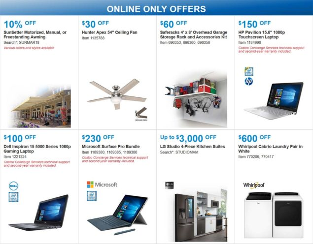 Costco Coupon March 2018 Page 20