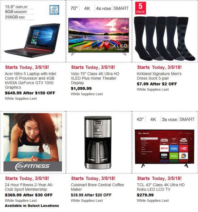 Costco March Hot Buys Page 4