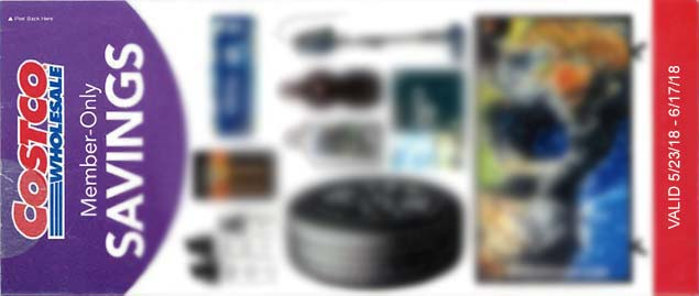 Blurred Costco Coupon Book