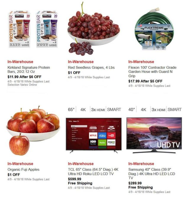 April 2018 Costco Hot Buys Page 1