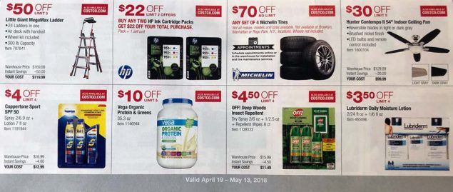 April 2018 Costco Coupon Book Page 12