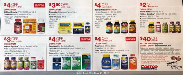 April 2018 Costco Coupon Book Page 19