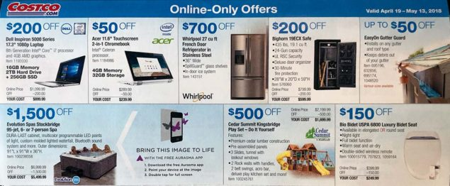 April 2018 Costco Coupon Book Page 20
