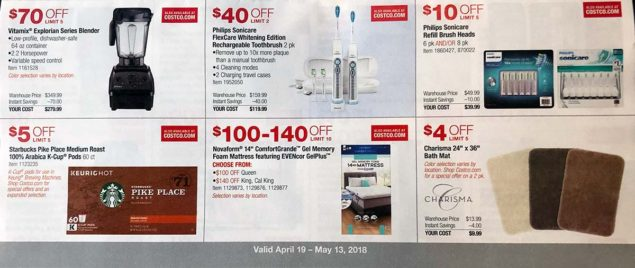 April 2018 Costco Coupon Book Page 8