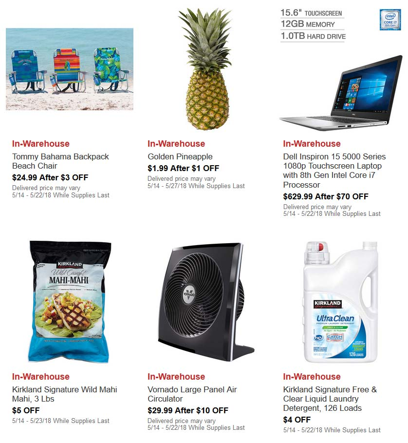 May Hot Buys Coupons Page 1