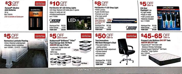 Costco Coupons May 2018 Page 11