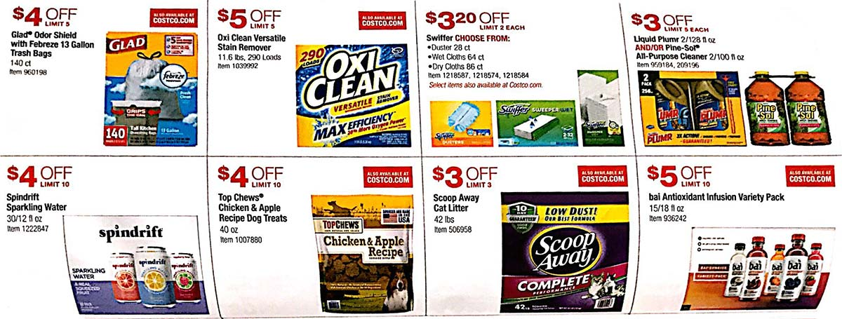 Costco Coupons May 2018 Page 16