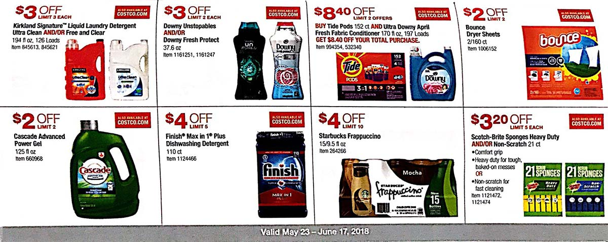 Costco Coupons May 2018 Page 17