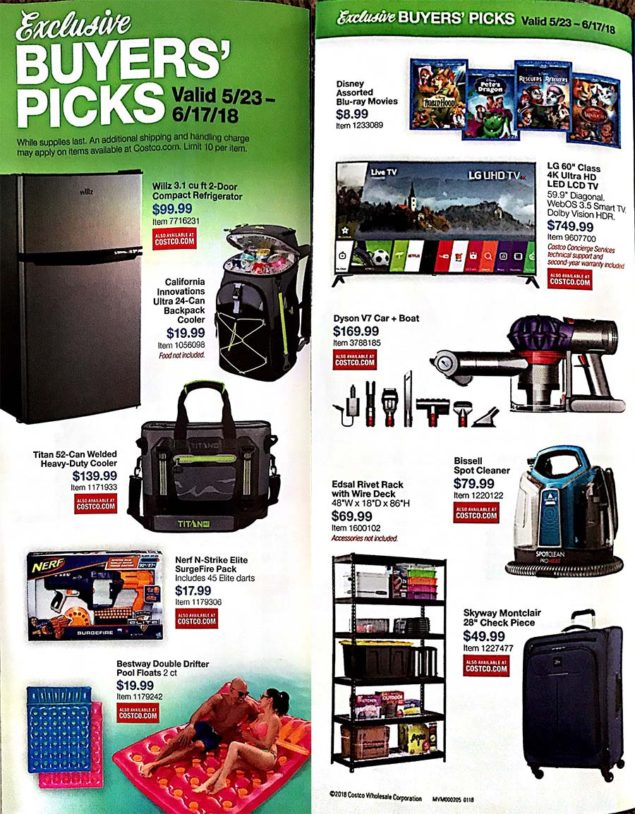 Costco Coupons May 2018 Page 3