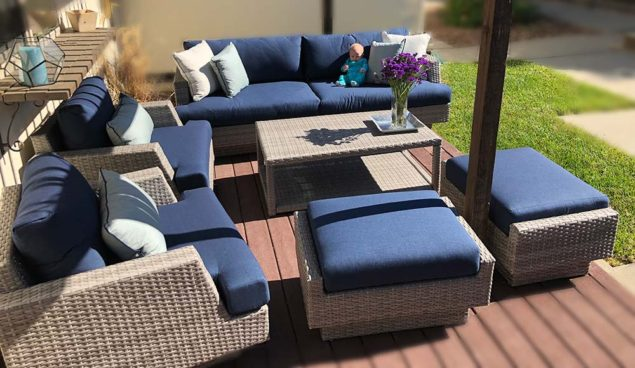 Outstanding Costco Portofino 7 Piece Seating Set Review Costco Insider Interior Design Ideas Gentotryabchikinfo