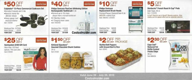 Costco Coupons July 2018 Page 12