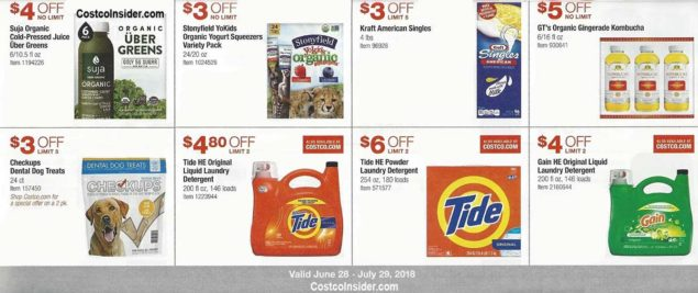 Costco Coupons July 2018 Page 16