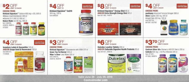 Costco Coupons July 2018 Page 19
