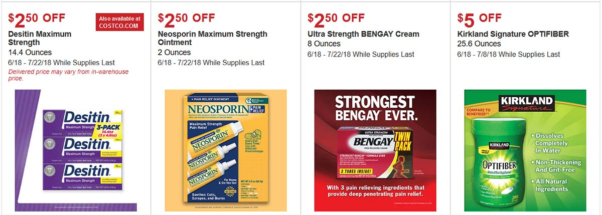 Costco June 2018 Hot Buys Page 3
