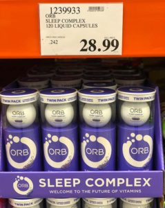 Orb Sleep on the shelf