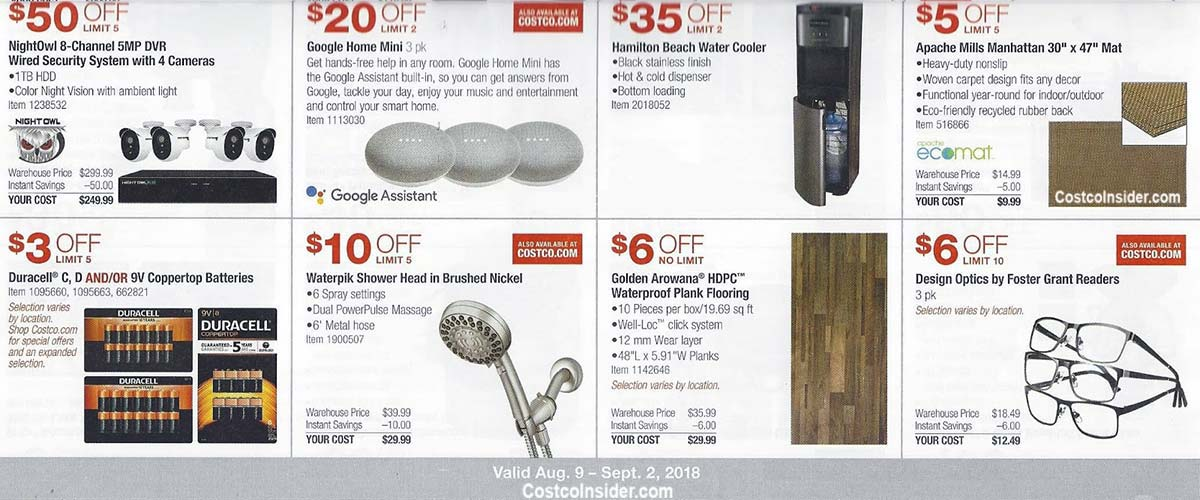 Costco August 2018 Coupon Book Page 11
