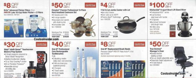 Costco August 2018 Coupon Book Page 12