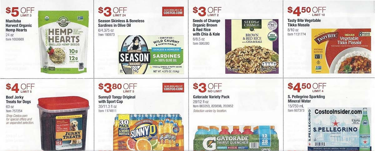 Costco August 2018 Coupon Book Page 16