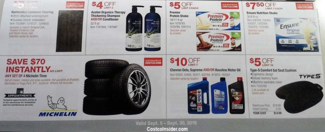 Costco September 2018 Coupon Book Page 15