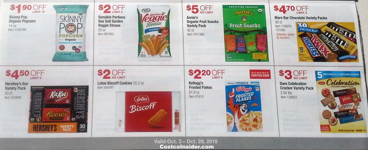 Costco October 2018 Coupon Book Page 12