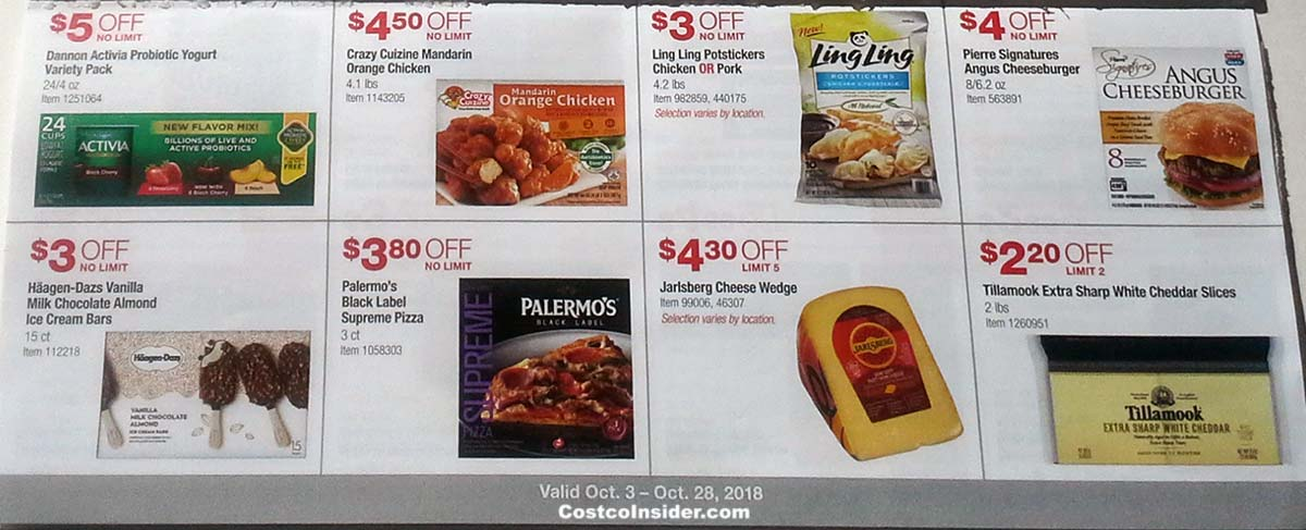 Costco October 2018 Coupon Book Page 14