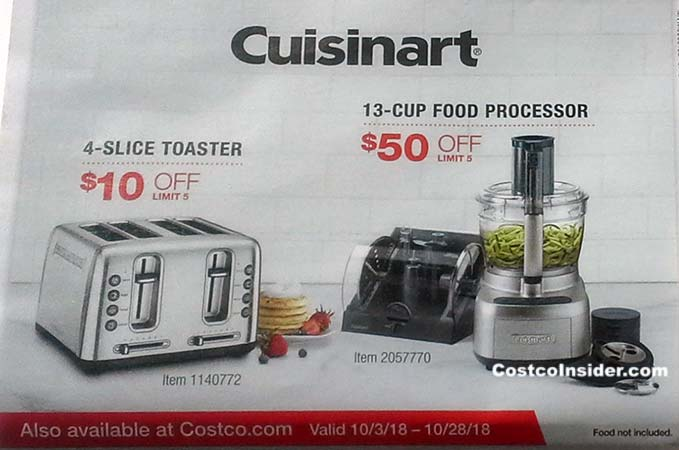 Costco October 2018 Coupon Book Page 23