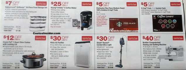 Costco October 2018 Coupon Book Page 9