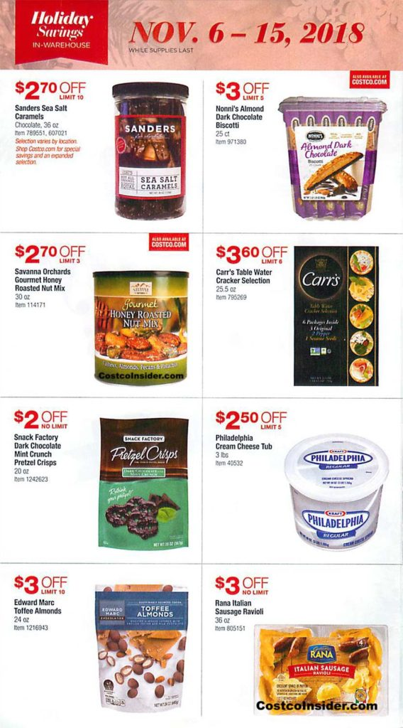 Costco Black Friday 2018 Ad Page 1