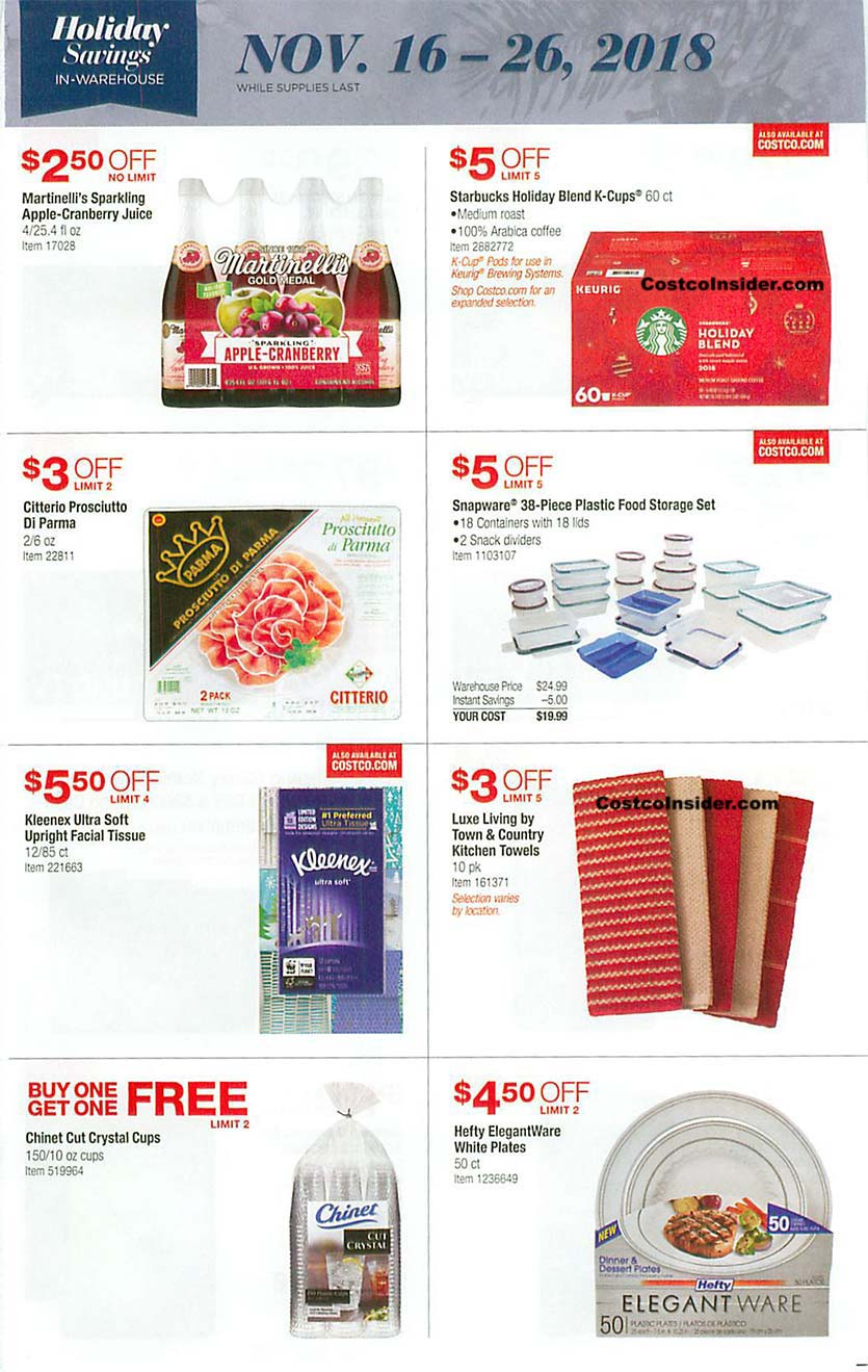 Costco Black Friday 2018 Ad Page 12