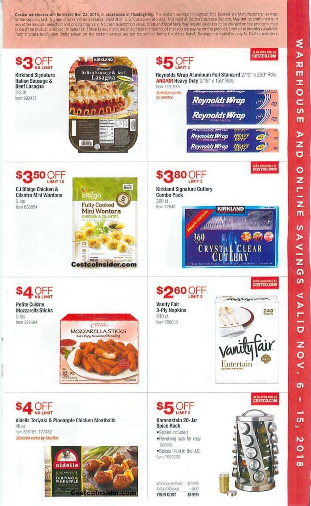 Costco Black Friday 2018 Ad Page 2