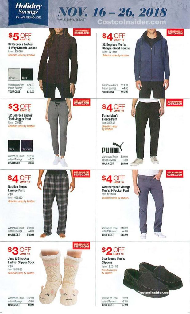 Costco Black Friday 2018 Ad Page 21