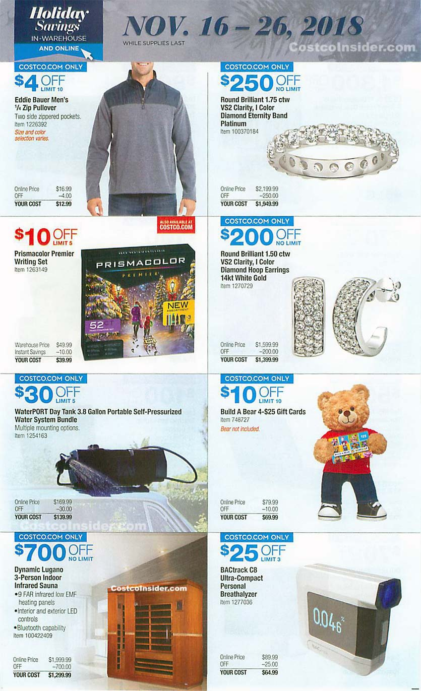 Costco Black Friday 2018 Ad Page 22