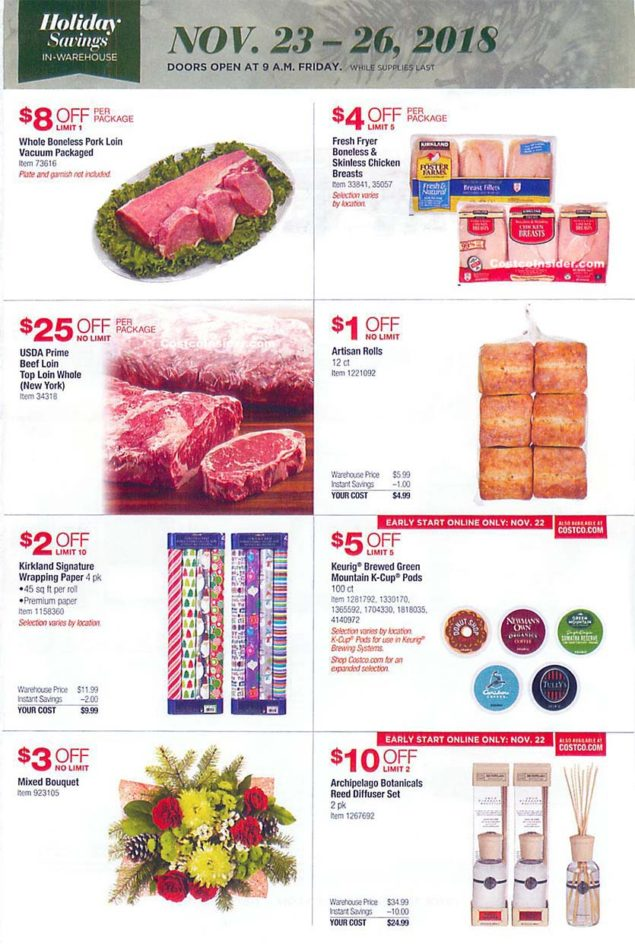 Costco Black Friday 2018 Ad Page 24