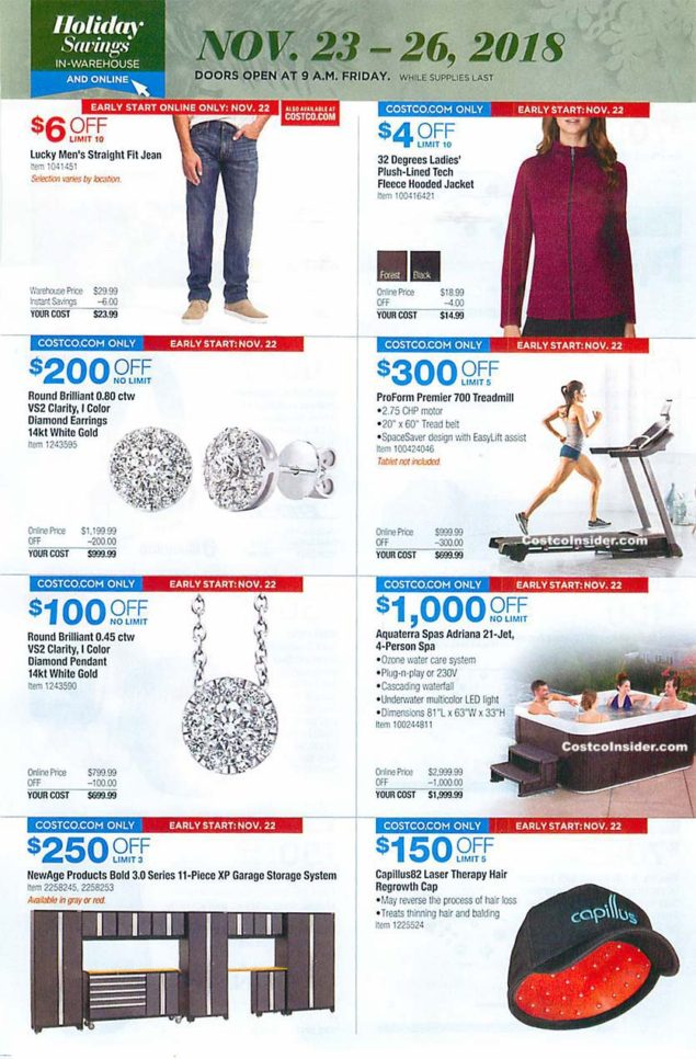 Costco Black Friday 2018 Ad Page 25
