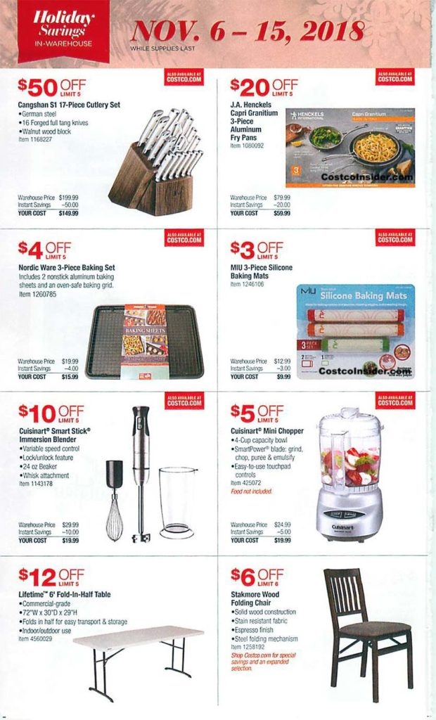 Costco Black Friday 2018 Ad Page 3