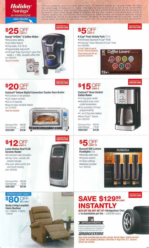 Costco Black Friday 2018 Ad Page 4