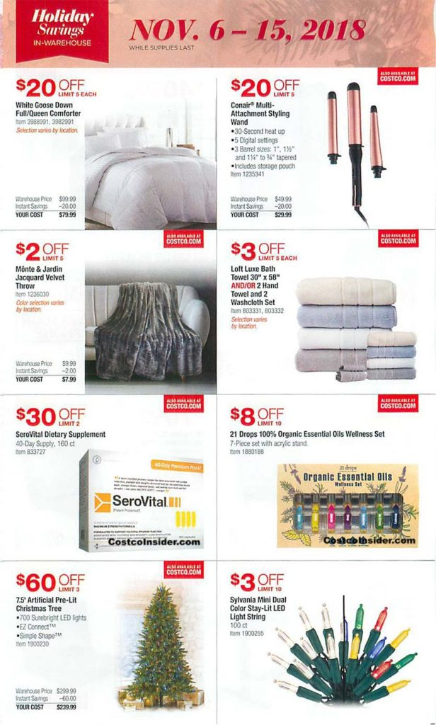 Costco Black Friday 2018 Ad Page 5