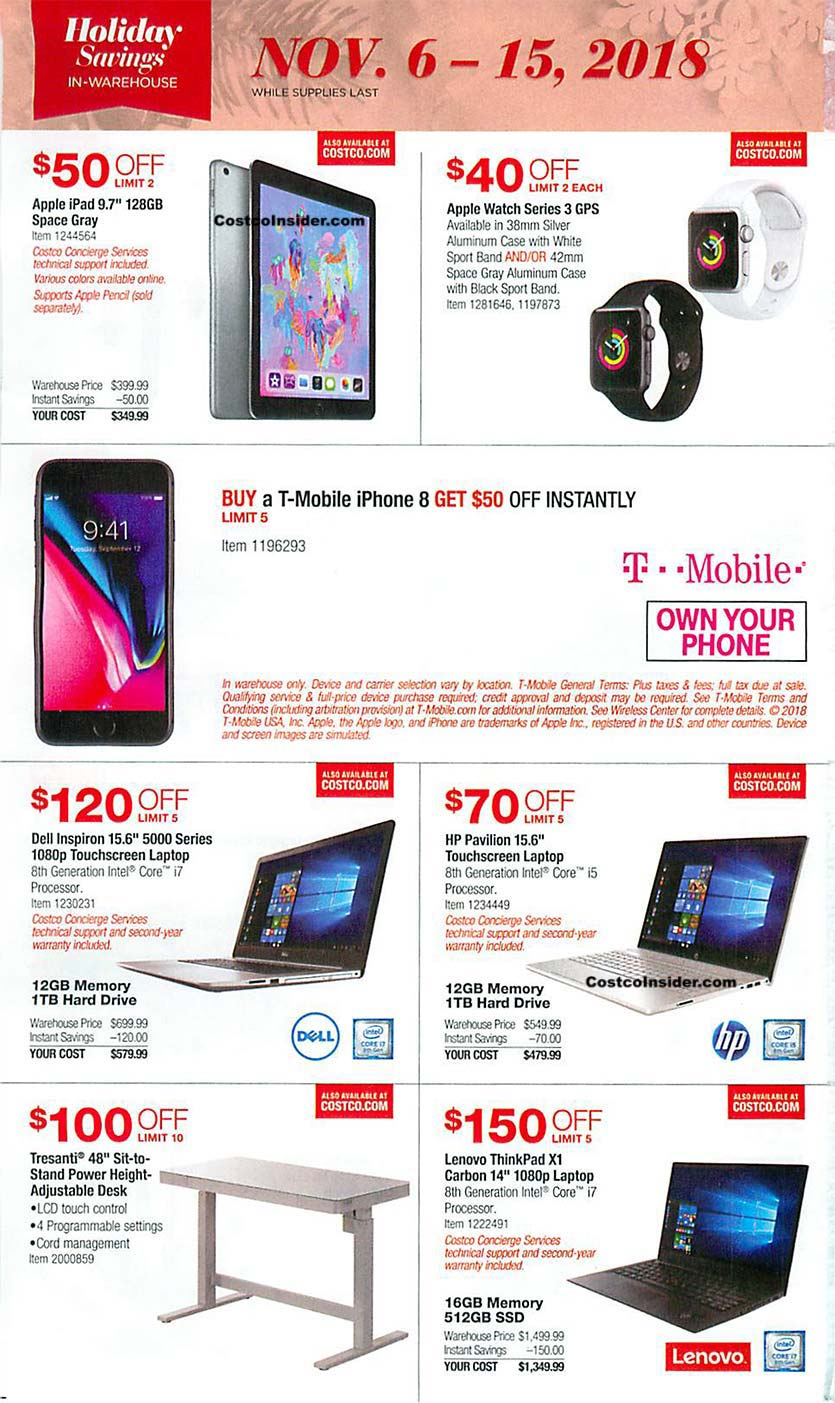 Costco Black Friday 2018 Ad Page 7