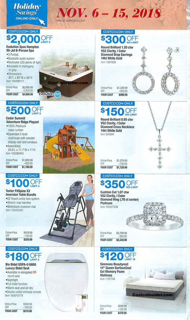 Costco Black Friday 2018 Ad Page 9