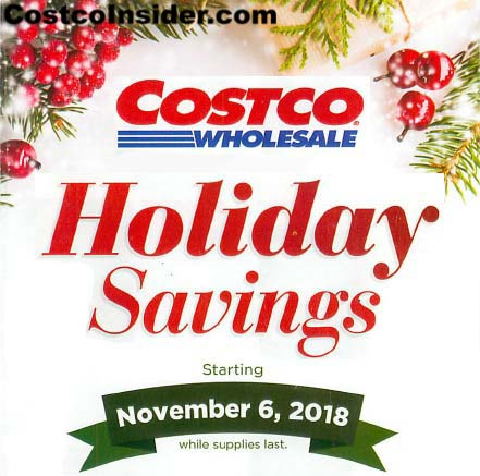 Costco Black Friday 2018 Ad Cover