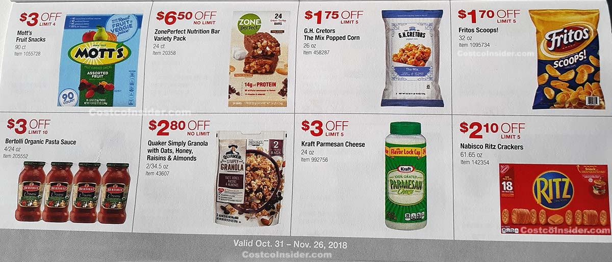 Costco November 2018 Coupon Book Page 12