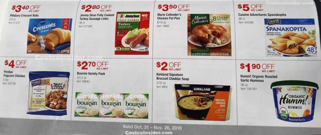 Costco November 2018 Coupon Book Page 14